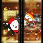 Купить Merry Christmas Window Wall Sticker Decals Snowflake Santa Claus Xmas Decor USA