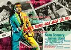 "DR. NO 1962 = James Bond 007 SECRET AGENT Germany = POSTER 7 SIZES 19"" - 36"" $62.88 CAD on eBay"