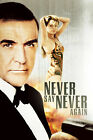 Never Say Never Again 6 Poster Movie Poster Canvas Picture Art Wall Decore £4.0 GBP on eBay