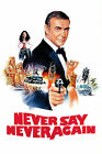 Never Say Never Again 1 Poster Movie Poster Canvas Picture Art Wall Decore £13.0 GBP on eBay