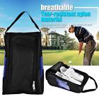 Golf Shoes Bag Travel Storage Bag Zipper Shoe Case Carrier Breathable Waterproof