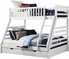 Triple Sleeper Bunk Bed with Mattress Options