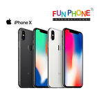 Apple iPhone X - Unlocked Smartphone Excellent Condition Choose color in box