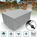 Waterproof Garden Rattan Outdoor Furniture Cover Patio Table Cube Set Protection
