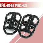 Wide Foot Brake Lever Peg Enlarge Pad Footrests Pedals for BMW R1200GS LC 13-17