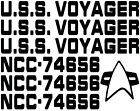 Star Trek USS Voyager NCC-74656 Ship Designation Vinyl Decal Sticker Car Laptop on eBay