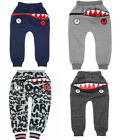 Hungry One Bottoms Pants in Grey Navy by ZOMBIE DASH For Kids Track Bottoms