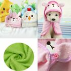 Kitten Puppy Pet Bath Towel Dog Bathrobe Hooded Pajamas Cat Shower Blankets