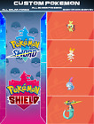 ALL NEW 80 Custom Pokemon Shiny Bundle 6IV Pokemon Sword & Pokemon Shield FAST