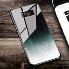 Cover Glass Case For Samsung Galaxy S9 S8 Plus S7 Edge OTAO Starry Sky Tempered