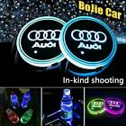 2pc LED Light Interior Car Logo Cup Holder Lights 7 Colors Changing USB Charging $34.99 USD on eBay