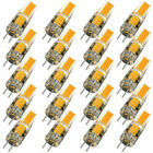 50pcs G4 COB LED Bulb AC DC 12V Dimmable Light Replace Halogen Lamp 20pcs 5pcs