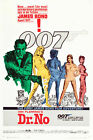 Dr.No ver2 James Bond 007 Movie Poster Canvas Picture Art Wall Decore £8.0 GBP on eBay