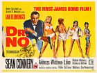 Dr.No ver3 James Bond 007 Movie Poster Canvas Picture Art Wall Decore £13.0 GBP on eBay