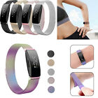 For Fitbit Inspire / HR Stainless Steel Metal Milanese Watch Band Magnetic Strap image
