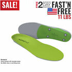 Superfeet GREEN Insoles,Professional-Grade High Arch Orthotic Insert for Support