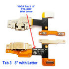 USB Charging Port Plug Flex for Lenovo YOGA Tab 3 YT3-X50L X50f V3.0 850F 8""