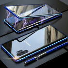 For Samsung Galaxy Note10S8 S9 S10Plus Magnetic Absorption Back Glass Case Cover