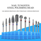 Nail Tungsten Steel Polishing Head Nail Art Drill Tools Electric Machine Device