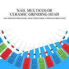 Ceramic Grinding Head Nail Drill Bits Nail Art Electric Griding Pedicure Tools