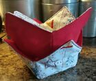 Microwavable Bowl Cozy - Multiple patterns/ Holidays /Sports Buy 3 get one free