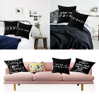 Decor Sofa Printed Cushion Cover Friends Tv Show Pillow Covers Pillow Cases