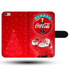 Christmas Santa Claus Drink Coca Cola All Clasp Holder Fabric Phone Case Cover £9.49  on eBay