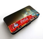 Christmas Truck Coca Cola New Year Happy Holidays Wallet Leather Phone Case £7.49  on eBay