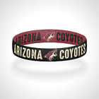 Reversible Arizona Coyotes Bracelet Wristband Go Coyotes Bracelet $11.0 USD on eBay