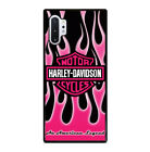 Pink Harley Davidson For Phone Case Samsung Galaxy S7 S8 S9 S10 Note 8 9 10 Plus $20.97 CAD on eBay