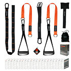 Vulken  Suspension Straps Bodyweight Trainer Home Gym Kit  Workouts Guide Book image