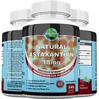 Astaxanthin 18mg Highest Strength Softgels Antioxidant Made in UK. not krill oil