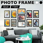 Modern Multi Photo Picture Clock Frame Love Family Friends Home Wall Mount UK