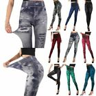 Внешний вид - Women High Waisted Skinny Jeans Jeggings Leggings Slim Stretchy Pants Trousers