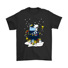 Los Angeles Rams Santa Snoopy Brings Christmas To Town NFL Black T-Shirt S-6XL $19.99 USD on eBay