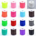 15m/Roll Hollow Pipe PVC Tubular Synthetic Rubber Cord Wrapped Spool Thread 4mm