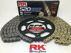 Yamaha R6 2006-2020 RK GXW520 XW-Ring Racing Chain and Sprockets Kit Gold - Silv