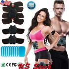 ABS Simulator EMS Fitness Belt Body Trainer Abdominal Toning Muscle Exerciser US image