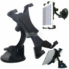 "360° Rorate Car Windshield Holder Desktop Mount Holder For iPad & 7""~11"" Tablets"