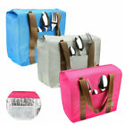 portable insulated thermal waterproof heat preservation picnic lunch storage bag