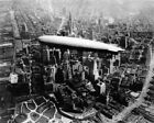 New Photo: USS LOS ANGELES Airship over Manhattan New York, 1930 - 6 Sizes!