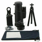 US 10X42 Zoom Optical Lens Monocular Telescope + Clip +Tripod For Xiaomi Redmi