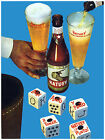 "039.Quality poster""Beer Retro Ad gambling""Cubilete.Decoration art.Folklore"