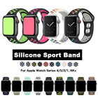 Silicone Sport iWatch Band Strap For NK+ Apple Watch Series 1 2 3 4 5 2019 image