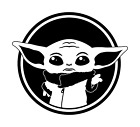 ! SET OF 2 ! Baby Yoda Decal Sticker- Mandalorian - Die Cut Star Wars Car Vinyl $3.49 USD on eBay