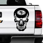 San Francisco 49'ers Skull Decal for jeeps, Vehicles, Windows, Stickers 6 Sizes! $4.24 USD on eBay