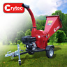 More images of CRYTEC 15HP ROAD TOWABLE PETROL WOOD CHIPPER TIMBER WOODCHIPPER SHREDDER MULCHER