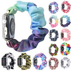 For Apple Watch Band 38/42mm 5 4 Women Scrunchie Bracelet Watches Elastic Strap image