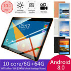 """10.1"""" Inch Tablet Android 8.1 6G 64GB 10 Core bluetooth WIFI Dual SIM Camera"""