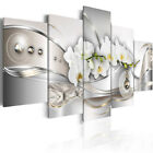 5Pcs Unframed Modern Flower Painting Art Wall Pictures Home Room DIY Decor Gift